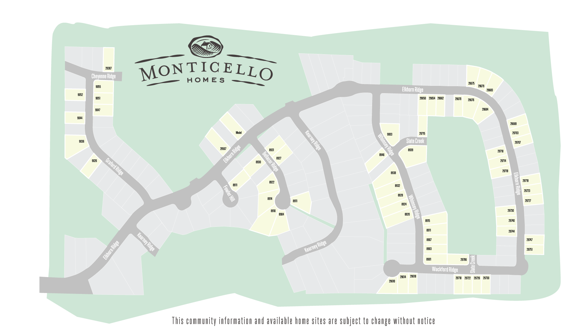 Boerne, TX Elkhorn Ridge at Fair Oaks Ranch New Homes from Monticello Homes