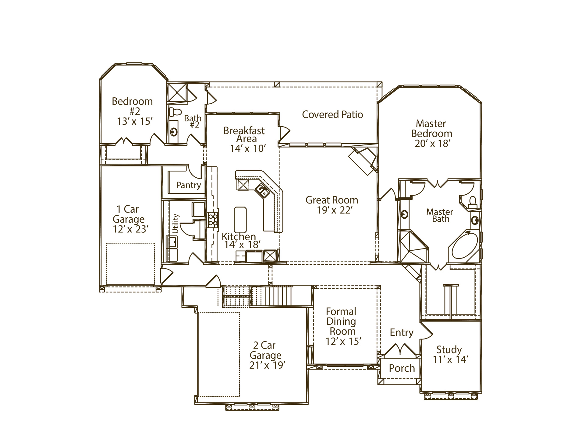 100 Monticello Floor Plans 2858 The Monticello
